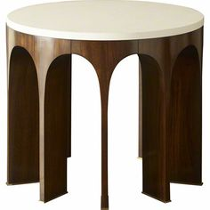 Baker Furniture : Arcade Center Table w/ Stone Top - 8651-1 : Thomas Pheasant : Browse Products