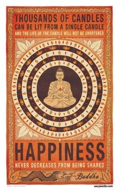 Yoga Inspirations: Happiness never decreases from being shared… From the new Downdog Diary Yoga Blog found exclusively at DownDog Boutique. DownDog Diary brings together yoga stories from around the web on Yoga Lifestyle... Read more at DownDog Diary