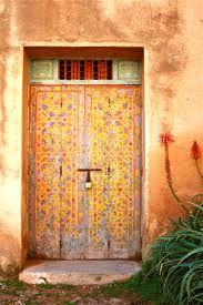 Beautiful Moroccan doorway