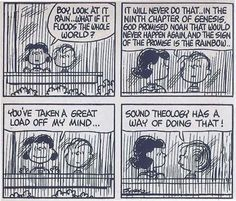 Charlie Brown on Sound Theology. Christian Comics, Christian Humor, Christian Life, Christian Quotes, Christian Living, Christian Signs, Christian Resources, Snoopy Love, Charlie Brown And Snoopy