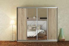 MAGMA 280 je veľká šatníková skriňa so 4 posuvnými dverami. Túto skriňu Vám ponúkame v žiadanom farebnom prevedení dub sonoma. Predná dverová časť je v kombinácii dub sonoma a zrkadlo. Skriňa je členená na policovú a závesnú časť s 2 závesnými tyčami. #byvanie #domov #nabytok #skrine #skrinespojazdom #modernynabytok #designfurniture #furniture #nabytokabyvanie #nabytokshop #nabytokainterier #byvaniesnov #byvajsnami #domovvashozivota #dizajn #interier #inspiracia #living #design… Oversized Mirror, Furniture, Home Decor, Decoration Home, Room Decor, Home Furnishings, Home Interior Design, Home Decoration, Interior Design