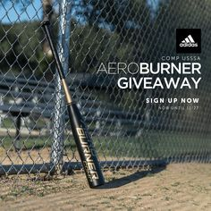 Ready to burn through the competition? The 2019 Adidas AeroBurner brings both speed and power to the plate. List Website, Baseball Bats, The Next Big Thing, Free Stuff, Giveaways, Competition, Plate, Adidas, Dishes
