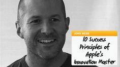 10 Success Principles of Apple's Innocation Master