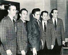 Elvis Backstage with The Jordanaires ~ Louisiana Hayride ~ Shreveport, Louisiana