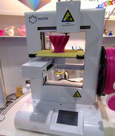 The Weistek IdeaWerk 3D Printer #3dprinting