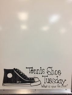 Tennis Shoe Tuesday