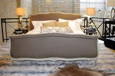 BEDROOM   French Style King Size Bed