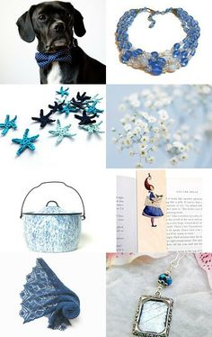 Blue Day by Medusa on Etsy--Pinned with TreasuryPin.com