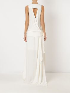 Giuliana Romanno - Vestido longo com amarração - R$ 2.969,00