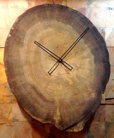 Wooden Moon Clock
