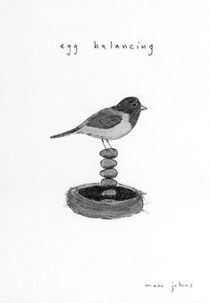 what birds do when we aren't looking