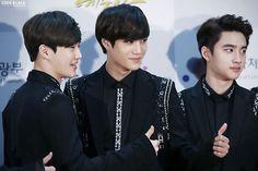 Suho <3 Kai <3 D.O <3 - 141117 2014 Republic of Korea Pop Culture Art Awards Ceremony