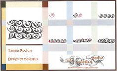 Boojum (molossus, who says Life Imitates Doodles) Tags: tangles zentangle zendoodle tanglepattern zentangleinspiredart