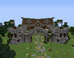 Magic Nordic Barracks - GrabCraft - Your number one source for MineCraft buildings, blueprints, tips, ideas, floorplans!