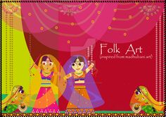 Folk Piece 1 by ashishkrart.deviantart.com on @DeviantArt