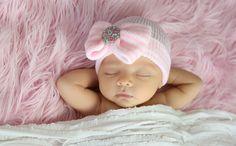 Newborn baby girl photography Portraits by Melissa Starr