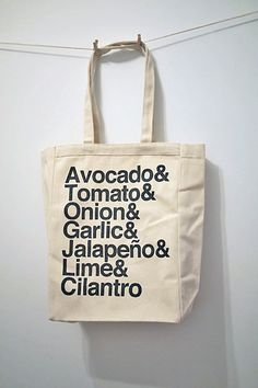 Guacamole tote! - @Kim Woodward needs this. :)