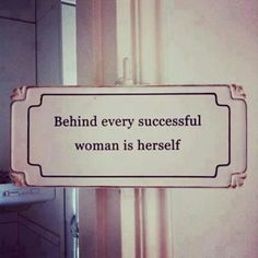 Quote about independent & successful women