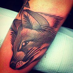 fox tattoo   # Pin++ for Pinterest #