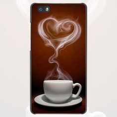 peony chocolate and coffee Style Hard Case Black Cover Scrub for Huawei P8 P9 Lite Plus P7 Mate S 7 8 9