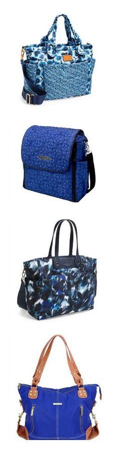 Seeing Blue #diaperbags #baby