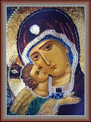 An Orthodox Christian Icon. The Mother of God- aka Theotokos