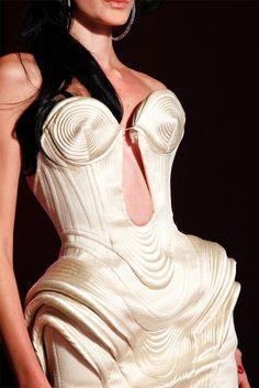 Details: Jean Paul Gaultier, Haute Couture Spring/Summer 2012.
