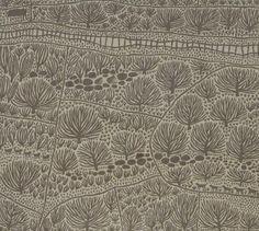 'Back Roads': Marina Strocchi: Australia: acrylic on linen: x Linocut Prints, Art Prints, Block Prints, Garden Fence Art, Haida Art, Thread Art, Chalk Pastels, Textile Art, Textile Patterns