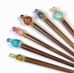 hair sticks : )