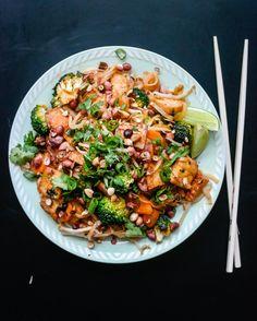 Du trenger ikke lete lenger etter den gode, veganske pad thaien. Den er her!