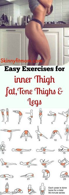 8 Exercise That Will Burn Inner Thigh Fat in 7 days