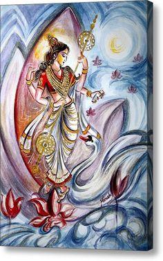 Goddess Saraswathi by Harsh Malik