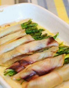 Senza Sale in Zucca: Involtini di pesce spada farciti agli asparagi
