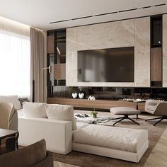inspiration wall unit luxury deluxe living room   (no title)   H O T E L   G U E S T R O O M . in 2019 ...