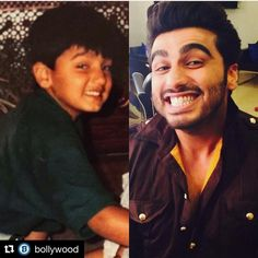 Say Cheese !!! #Repost @bollywood with @repostapp ・・・ Awwwww how adorable does Arjun Kapoor look both as a child and still mimic