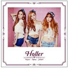 Girls' Generation TAETISEO [HOLLER] 2nd Mini CD + POSTER K-POP Sealed SNSD TTS
