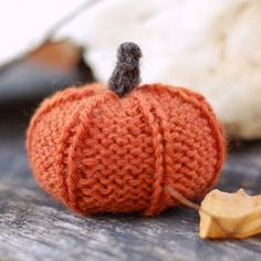 Free Knitting Pattern: Jack Be Little Pumpkin