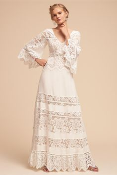 BHLDN's Tracy Reese Aspen Gown in Ivory