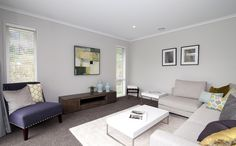 Show Home | Relax in the lounge | G.J. Gardner Homes