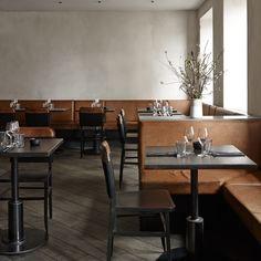 Simple materials shape Space Copenhagen's interior for Musling restaurant