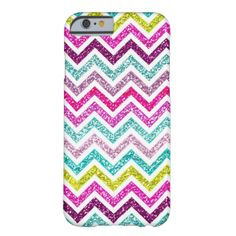 Chevron Glitter Pink, Blue, Green and Purple Bling (does not shine or sparkle, it's not made of glitter) #glitter #chevron #bling #sparkle #girly #stripes #zigzag #colorful rainbow