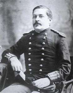 Major Marcus Reno 1834-1889  7th Calvary.  Survived the Battle of the Little Big…
