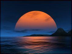 Blue/Orange describes Moon Glow scent best