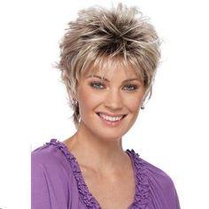 nice hair style for short hair the 60's r back again ..:)