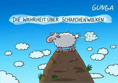 The truth about sheep clouds . The Effective Pictures We Offer You About Silly Jokes funny A quality picture can tell you many things. You can find the most beautiful pictures that can be presented t Funny Jokes For Adults, Silly Jokes, Epic Fail Pictures, Funny Pictures, Schmidt, Uber, Adult Cartoons, Jokes In Hindi, Children's Book Illustration