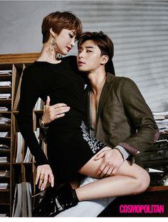 <그녀는 예뻤다> 황정음, 박서준, 고준희, 최시원   코스모폴리탄 (Cosmopolitan Korea)