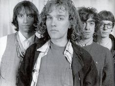 R.E.M. - Peter Buck, Michael Stipe, Bill Berry and Mike Mills