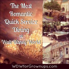 The Most Romantic Quick Service Dining at Walt Disney World