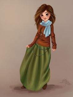 Something about this girl makes me think of Ilyon... Kyrin?