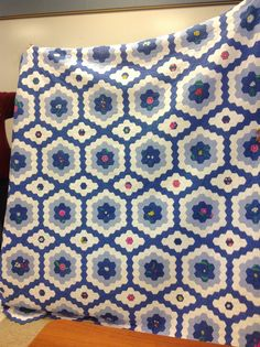 I spent a wonderful day yesterday with the Cherokee Rose Quilt Guild in Douglasville, GA. Hexagon Quilt Pattern, Hexagon Patchwork, Patchwork Ideas, Paper Piecing Patterns, Quilt Patterns, Cherokee Rose, Tatting Patterns, English Paper Piecing, Hand Quilting